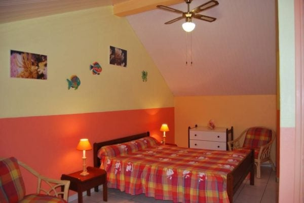 Chambre climatisee etage Flamboyants gd format