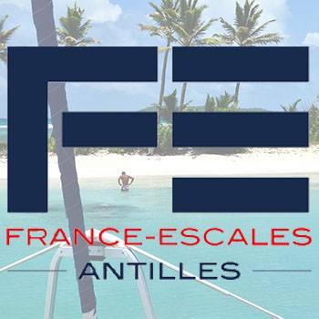 France escales antilles logo