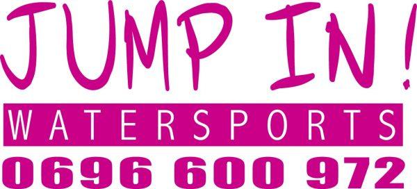 jump in logo pink