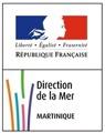 logo directiondelaMer martinique